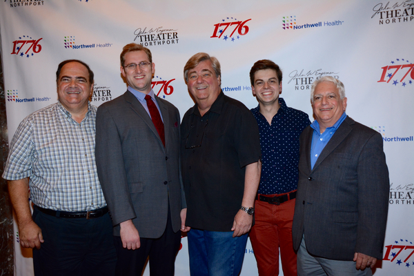 Stephen Valenti, Mosebach, Wayne Miller, Matt Rafanelli and Bud Budnick Photo