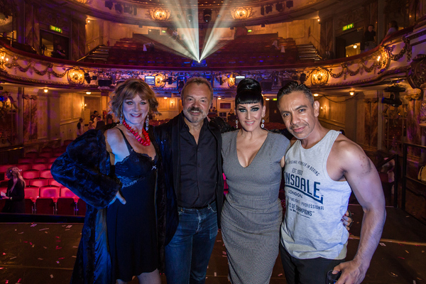 Samantha Bond, Graham Norton, Michelle Visage and David Bedella