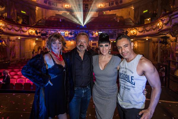 Samantha Bond, Graham Norton, Michelle Visage and David Bedella