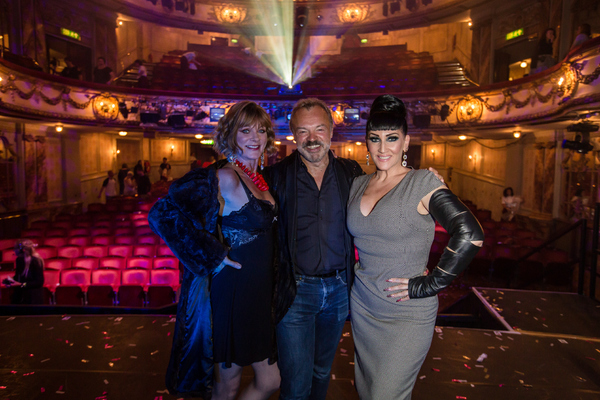 Samantha Bond, Graham Norton and Michelle Visage