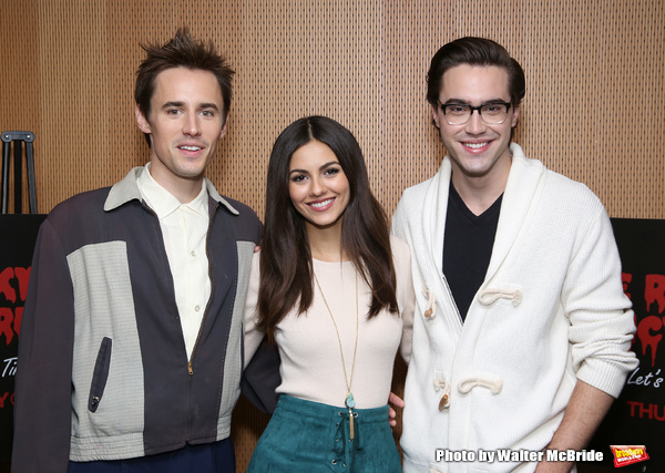 Reeve Carney, Victoria Justice and Ryan McCartan