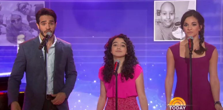 VIDEO: Cast of ON YOUR FEET Perform Original Song 'The Home Team' on TODAY