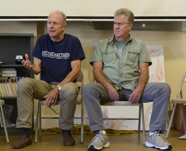 Photo Flash: In Rehearsal with Israel Horovitz's MAN IN SNOW Premiere at Gloucester Stage