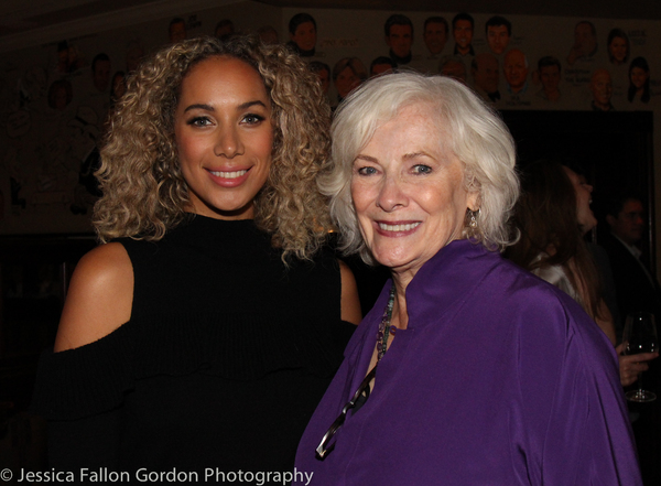 Leona Lewis and Betty Buckley