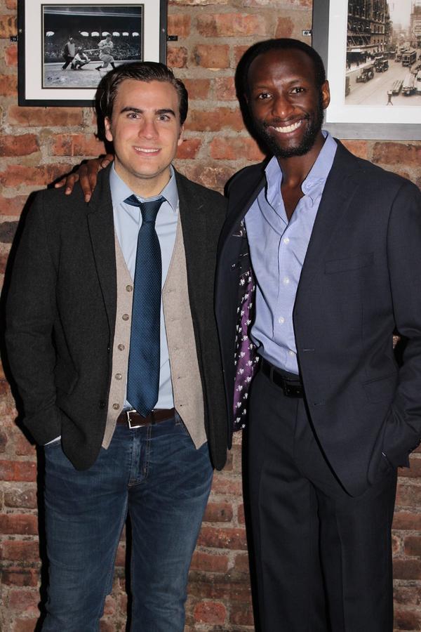 Rowan Vickers and Phillip James Brannon Photo