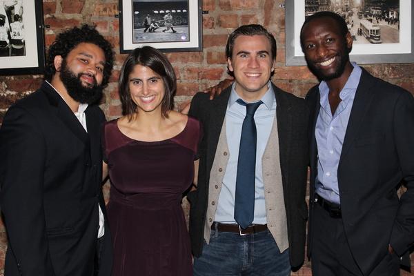 Nathan Alan Davis, Megan Sandberg-Zakian, Rowan Vickers and Phillip James Brannon