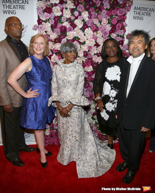 Samuel L. Jackson, Heather Hitchens, Cicely Tyson, LaTanya Richardson Jackson and David Henry Hwang