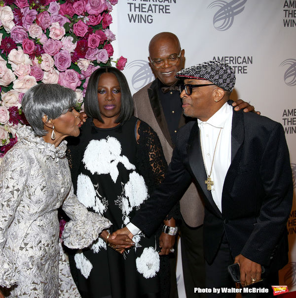 Cicely Tyson, LaTanya Richardson Jackson, Samuel Jackson and Spike Lee