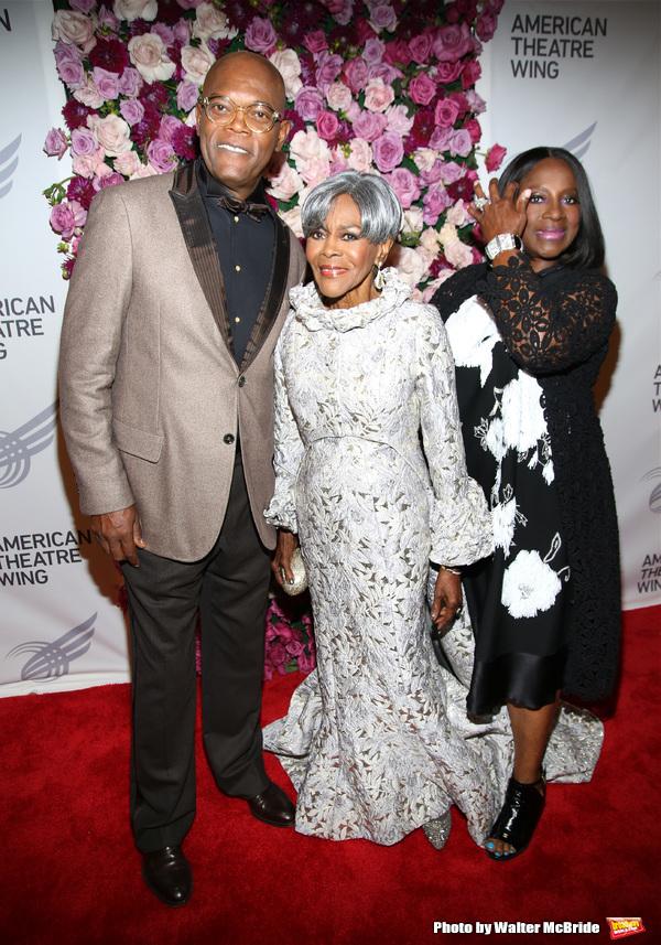 Samuel L. Jackson, Cicely Tyson and LaTanya Richardson Jackson