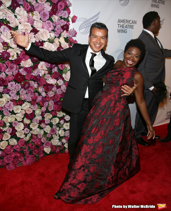 Sergio Trujillo and LaChanze
