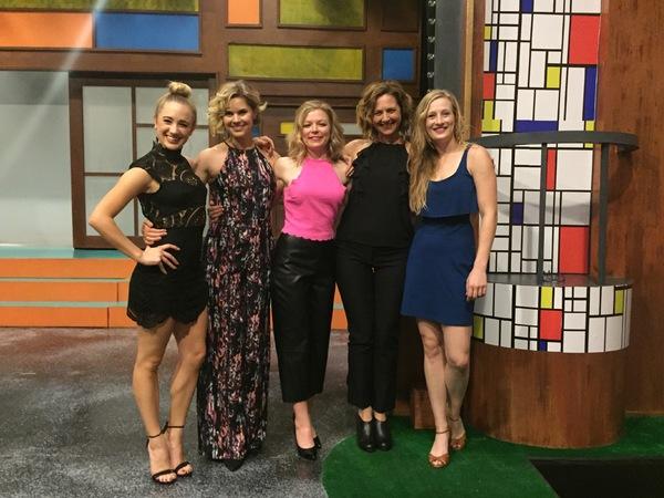 Olivia Renteria, Erin McGrath, Mary-Margaret Roberts, Tina Gluschenko, Annie Watkins Photo