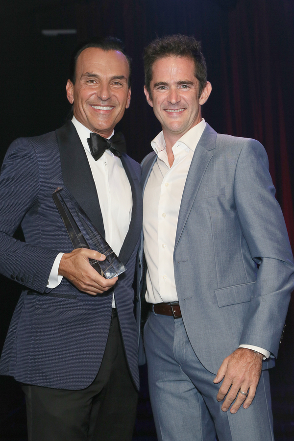 Honoree Joe Lanteri and Andy Blankenbuehler