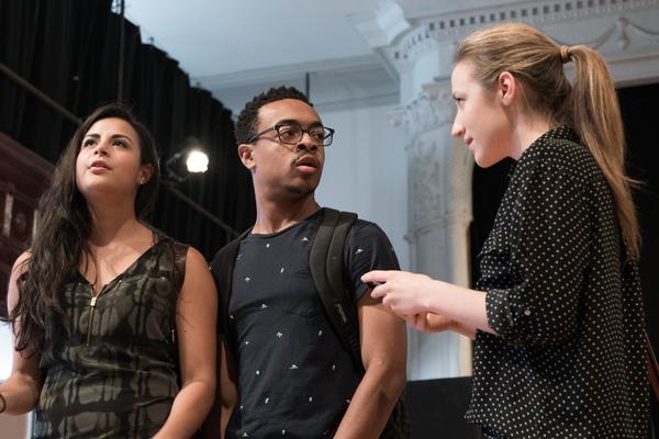 Stephanie Andrea Barron,  Ty Olwin and Olivia Cygan