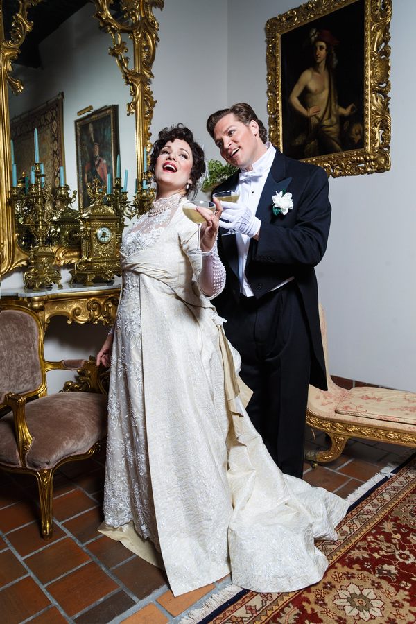 Photo Flash: First Look at LA TRAVIATA at Artifacts Antique Store in Pittsburgh