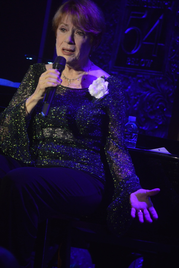 Photo Flash: NANCY DUSSAULT at Feinstein's 54 Below