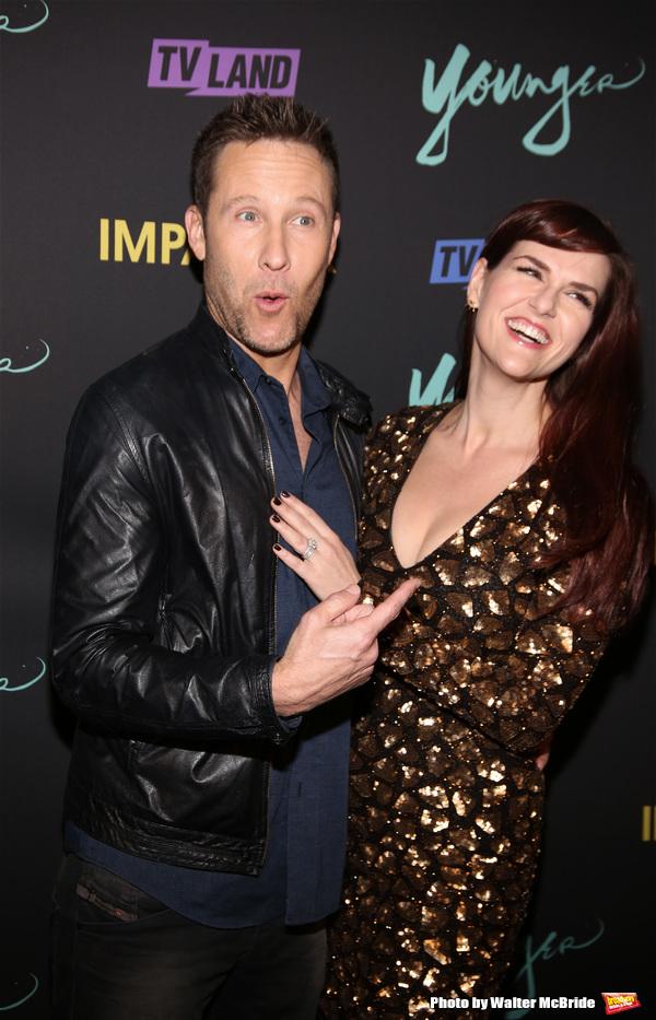 Michael Rosenbaum and Sara Rue