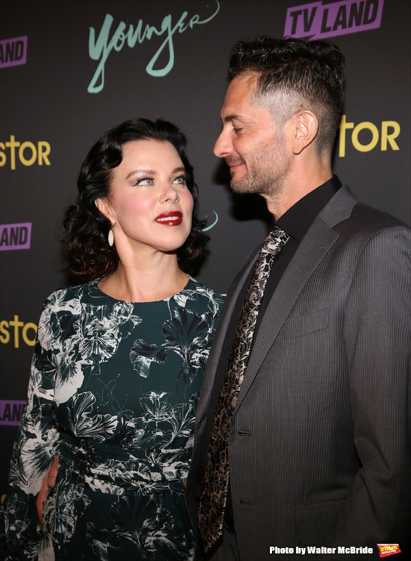 Debi Mazar and Gabriele Corcos