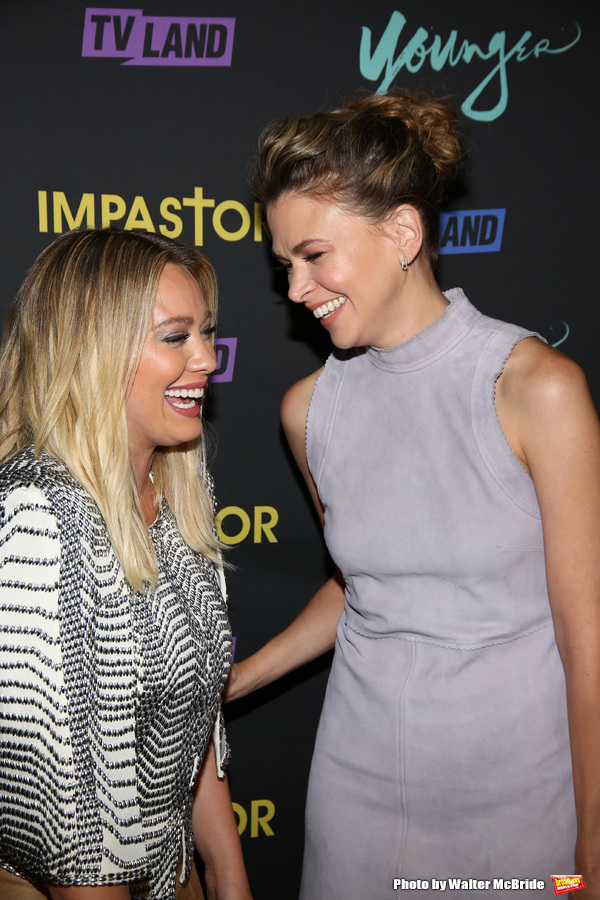 Hilary Duff and Sutton Foster