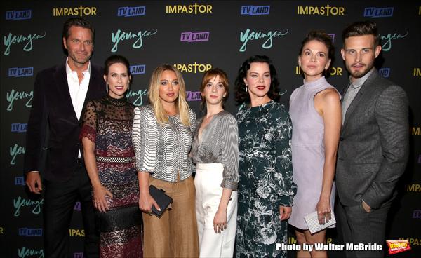 Peter Hermann, Miriam Shor, Hilary Duff, Molly Bernard, Debi Mazar, Sutton Foster and Nico Tortorella