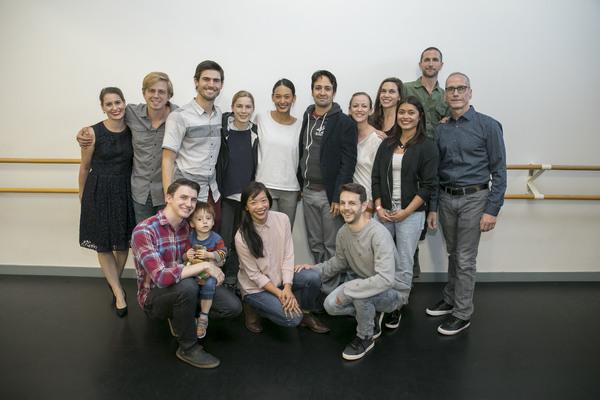 Photo Flash: Lin-Manuel Miranda Visits Chicago's Hubbard Street Dance Center