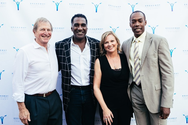 Bob Abrams, Norm Lewis, Cynthia Vance and Michael McElroy Photo