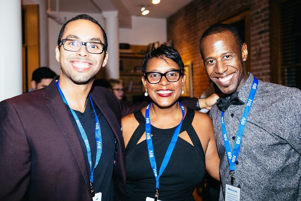 Jessie Nager, Schele Williams and Marcus Paul James Photo