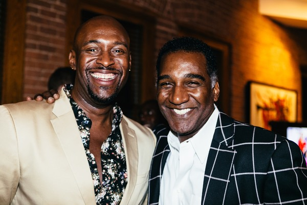 John Eric Parker and Norm Lewis Photo
