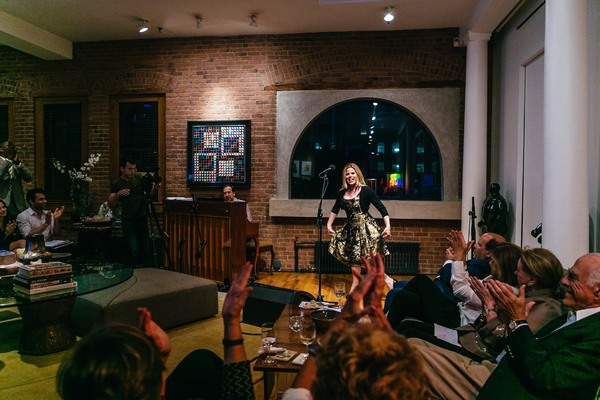 Photos: Norm Lewis, Kate Baldwin, Megan Hilty, Corbin Bleu and More Take Part in Parlor Night with Broadway Inspirational Voices