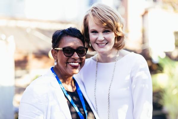 Schele Williams and Kate Baldwin Photo