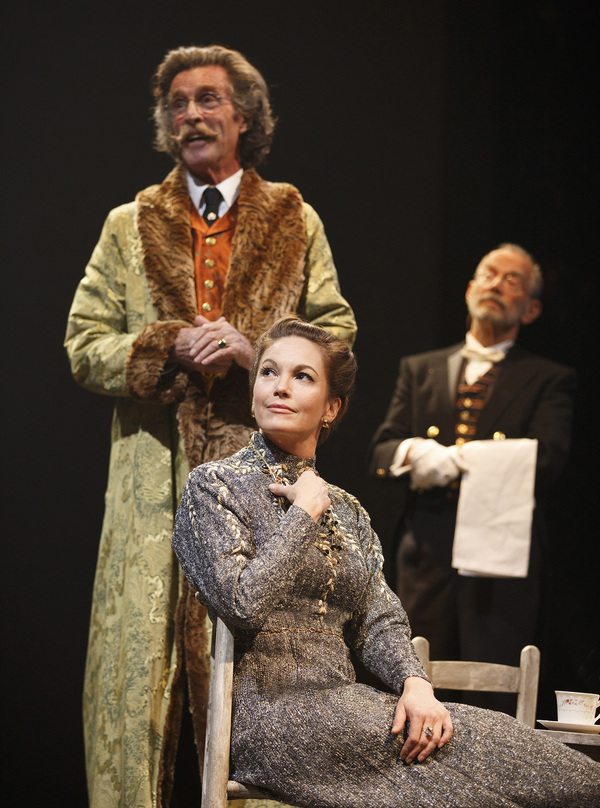 The Cherry Orchard Production Photo - John Glover, Diane Lane and Joel Grey