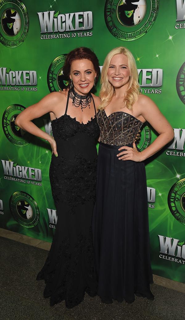 Rachel Tucker and Suzie Mathers