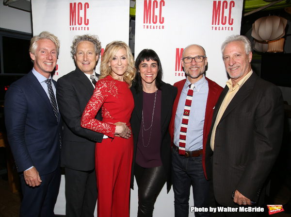 Blake West, Bernard Telsey, Judith Light, Leigh Silverman, William Cantler and Robert Photo