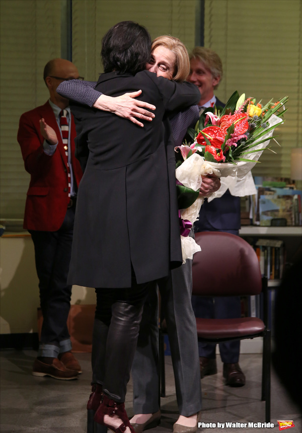 Director Leigh Silverman and Judith Light