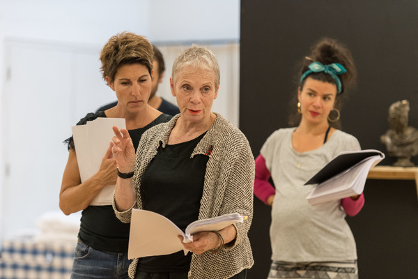 Photo Flash: In Rehearsal with Tamsin Greig and More for 'THE INTELLIGENT HOMOSEXUAL'S GUIDE...' at Hampstead