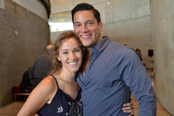 Betsy Morgan and Nicholas Rodriguez