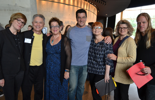 Ilona Somogyi, David Leong, Molly Smith, Paul Sportelli, Anita Maynard-Losh, Lynn Watson and Keith Parham