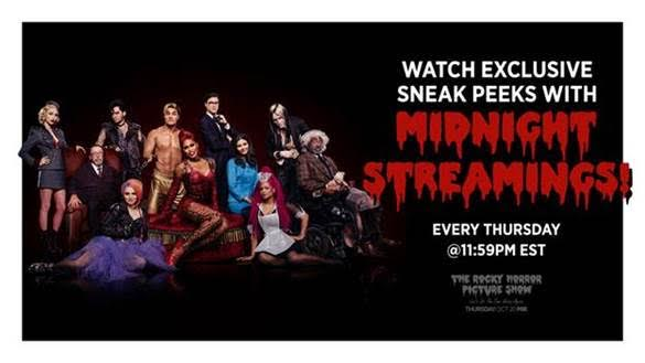 FOX to Offer Midnight Sneak Peeks of THE ROCKY HORROR PICTURE SHOW Every Thursday, Beginning Tonight!