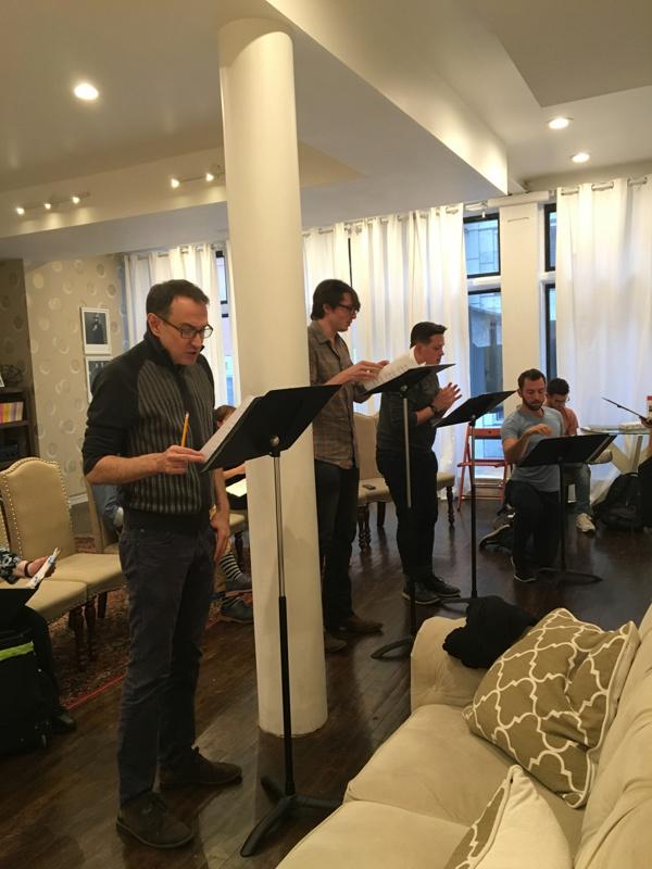 Frank Vlastnik, Kasey Yeargain, and Evan Mayer.