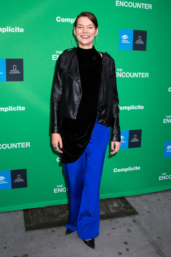 Photo Coverage: On the Opening Night Red Carpet for THE ENCOUNTER