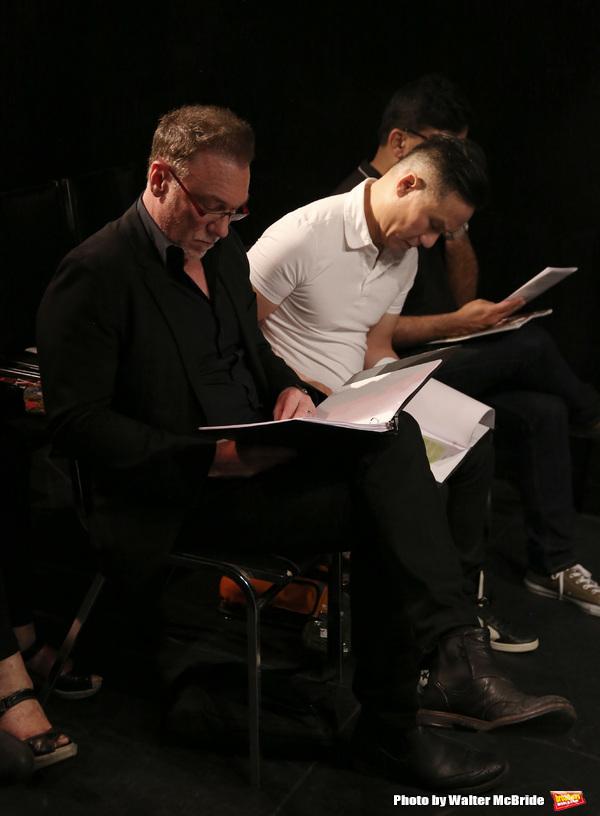 Patrick Page and B. D. Wong