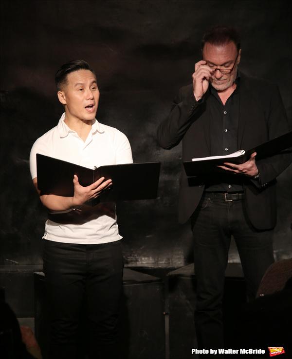B. D. Wong and Patrick Page