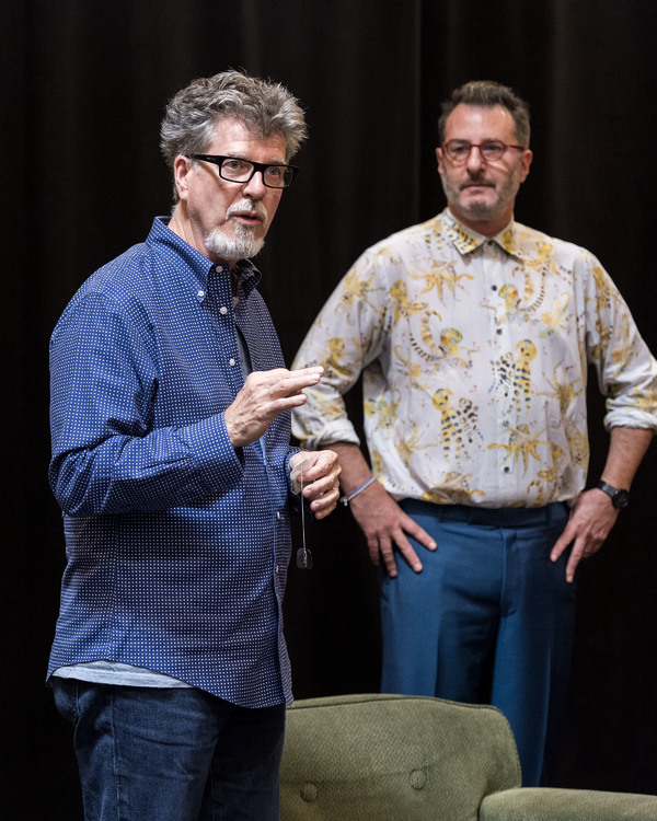 Robert Egan and Jon Robin Baitz