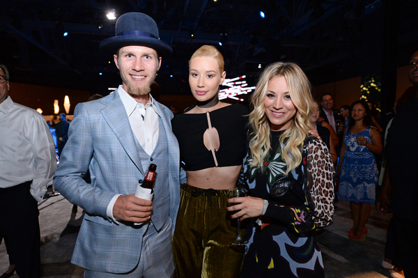 Karl Cook, Iggy Azalea and Kaley Cuoco