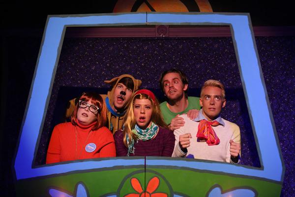 Caitlin Jackson, Christopher Wilson, Elizabeth Lesinski, Josh Kemper and Will Kazda Photo