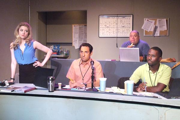 Annie Abrams, David Babich,  Troy Metcalf and Dennis Pearson Photo by Ed Krieger