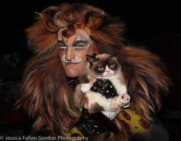 Tyler Hanes and Grumpy Cat