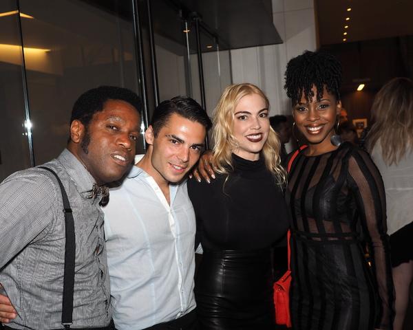Ty Taylor, Ben Caron, Brenna Whitaker, and Danielle Truitt Photo
