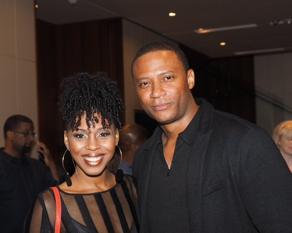 Danielle Truitt and David Ramsey