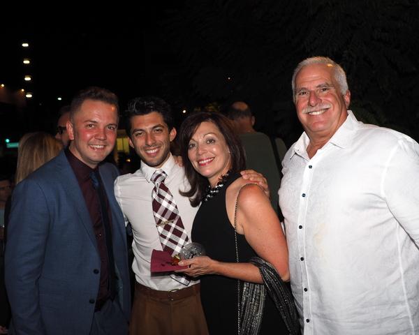 Shane Scheel, Steve Mazurek, Janet Rosenberg, and Alan Rosenberg