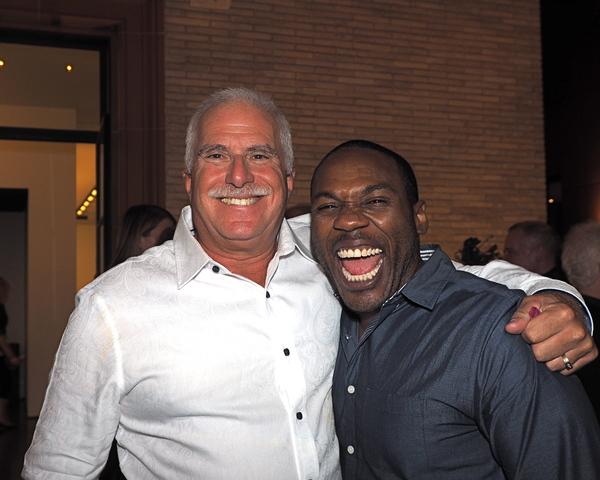 Alan Rosenberg and Rogelio Douglas, Jr.